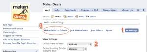 MakanDeals.com fan page