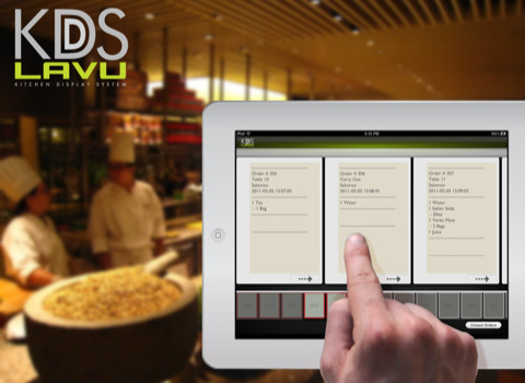 KDS Lavu iPad Kitchen Display System